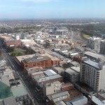 View from the top of Westpac House
