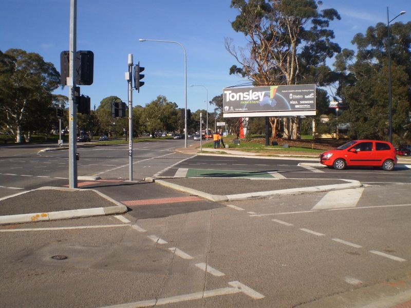 Flinders Tonsley Turnoff