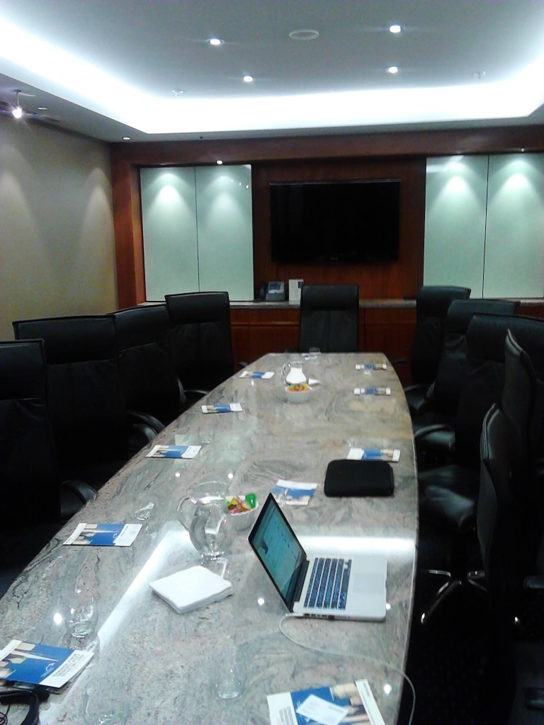 Servcorp Adelaide Boardroom